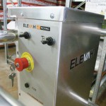 An Elevah 47 Picking is a stock picking personnel access platform. Shown here is the control panel.